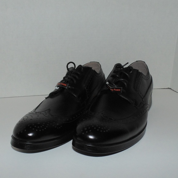 Deer Stags Other - Deer Stags Black Wing Tip Shoes Men Size 9 - 9.5